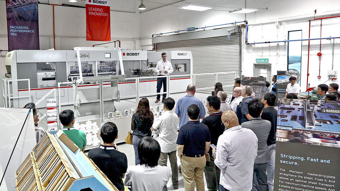 Marbach And BOBST PERFORMANCE DAYS Excite SEA Converters With