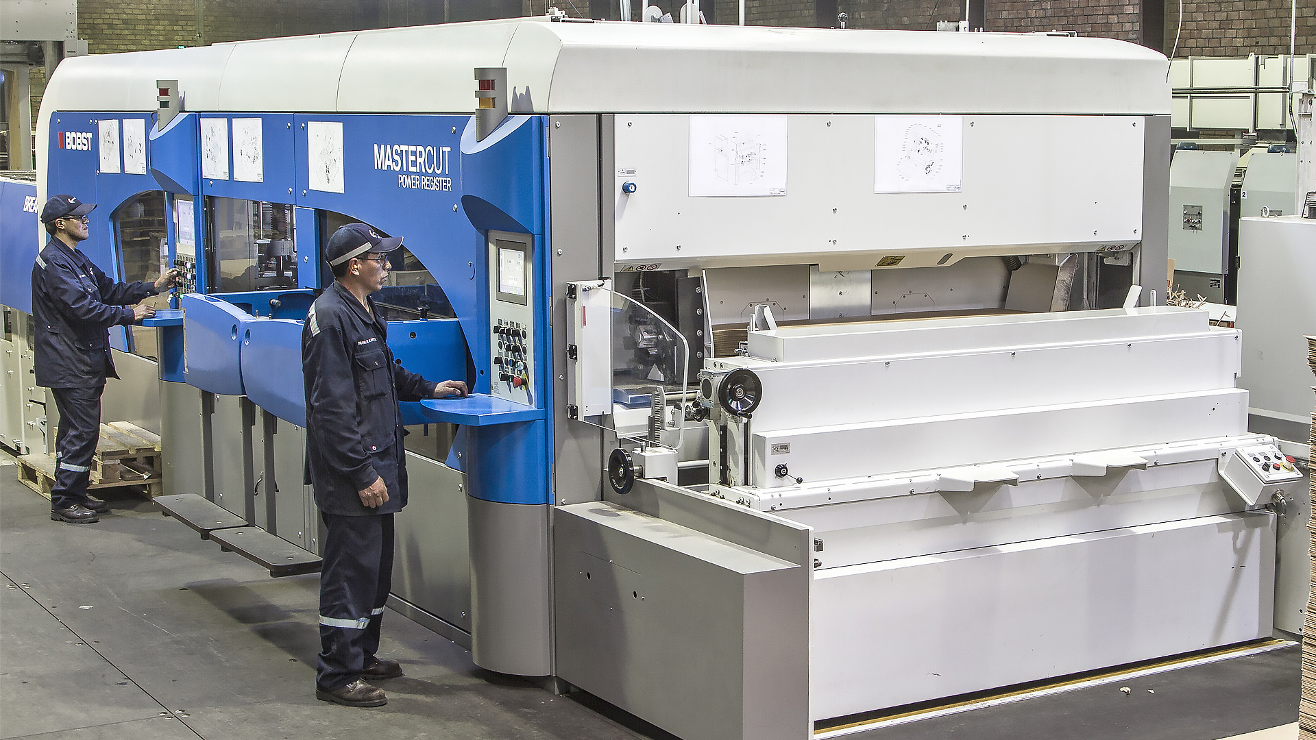 BOBST Equipment Has Been Used By La Papelera For Some Years Flexo Printing Plus Flatbed Die Cutting With Two SPO Machines